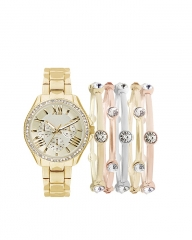 JESICA Ladies Watch Set gold