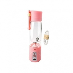 Generic Rechargeable Portable Blender PINK