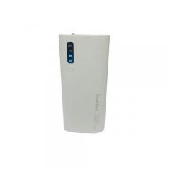 20000mAh powerbank With LED light - White white 20000