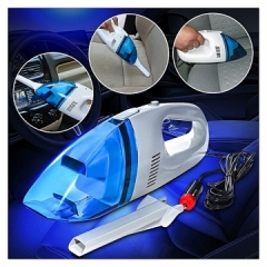 High Power Universal Car Vacuum Cleaner Wet And Dry Blue same