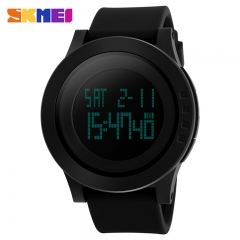 SKMEI Large Dial Outdoor Men Sports Watches LED Digital Wristwatches Waterproof  Watch color 1