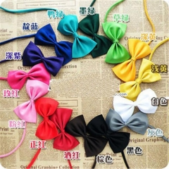 1pcs Pet Dog Hair Bows Small Bowknot Cute Gift Pet Grooming bows Topknot NI As Picture one size