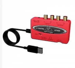 HOT Red NEW Behringer U-CONTROL UCA222 USB-Audio Interface Adapter in Box S^^ As Picture one size