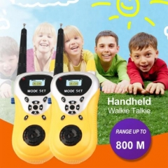 Intercom Electronic Walkie Talkie Kids Child Mini Toys Portable Two-Way Radio SV As Picture one size