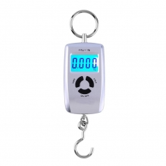 WH-A05L LCD Portable Digital Electronic Scale 10-45kg 10g for Fishing Luggage as pic