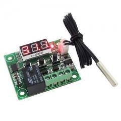 -50-110°C W1209 Digital thermostat Temperature Control Switch DC 12V + Sensor G2 A one size