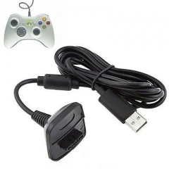 NEW USB Charger Cable Lead For Microsoft Xbox 360 Wireless Controller Gamepad IP A one size