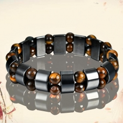 Neutral black gallstone Bracelet as pic one size