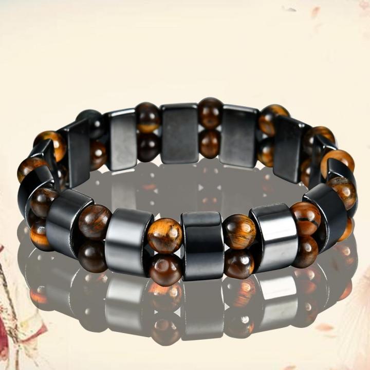Neutral black gallstone Bracelet as pic one size