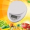 New Digital Kitchen Food Diet Postal Scale Electronic Weight Balance 5Kg x 1g white one size