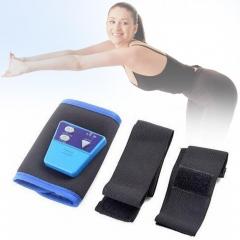 AB Gymnic Toning Toner Belt Arm leg Abdominal Waist Massage Fitness Exercise GU as pic one size
