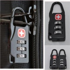 Travel Combination Padlocks Luggage Suitcase Baggage Security Safety Pad Lock AS picture