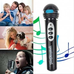 Children Girls Boys Microphone Mic Karaoke Singing Kids Funny Music Toy Gifts as  pic one size