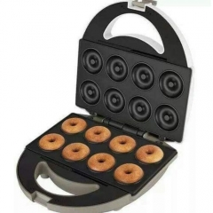 8 piece Donut / Doughnut maker - White & Black