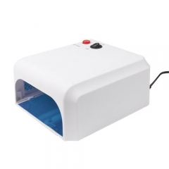36W UV Lamp Light Nail Dryer Manicure Gel With Timer WHITE BIG