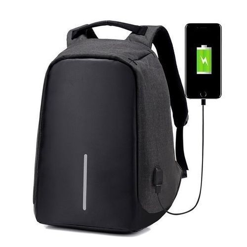 Anti-theft Travel Laptop Backpack – (2017 Humanized Design) Lightweight And Durable Backpack BLACK MEDIUM