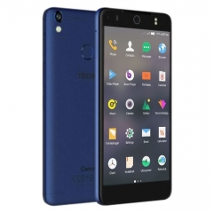 "TECNO WX3 SMARTPHONE: 5.0""- 8GB ROM- 5MP- ANDROID 7.0 blue"