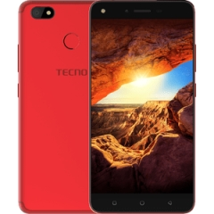 "TECNO Spark K7: 5.5"" Screen,16 ROM+1GB RAM, 13MP+5MP, 3000mAh Battery Smartphone red"