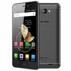 "X-TIGI P11, 5.0"" Display, 16GB ROM +2GB RAM, 8MP Camera, 4000mAh, Android 7.0, Full metal black"