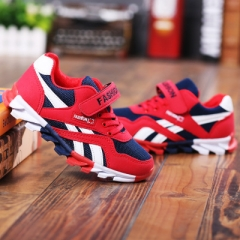 2018 New Children shoes boys sneakers girls sport shoes child leisure trainers casual shoe red 26