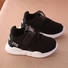 2017 new fashion net breathable pink leisure sports running shoes for girls white shoes for boys black 29