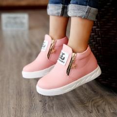 2017 hot fashion Martin australia boots single low short botas kids baby nina boys autumn shoes pink 26