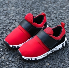 Children shoes girls trainers Breathable Mesh sneakers flat Kids shoes Causal toddler boys shoes red 30