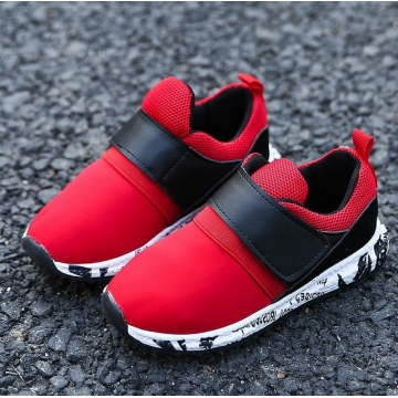 Children shoes girls trainers Breathable Mesh sneakers flat Kids shoes Causal toddler boys shoes red uk12
