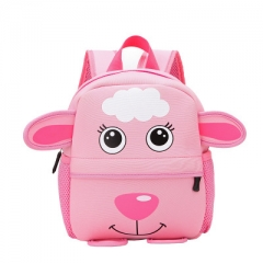 3D Cute Animal Design Backpack Toddler Kid cute zoo School Bags Kindergarten Cartoon Comfortable Bag #02