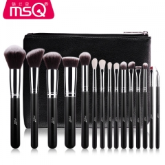 Pro 15pcs Makeup Brushes Set Powder Foundation Eyeshadow Make Up Brushes Cosmetics Soft Synthetic as picture