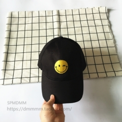 Hot Soft Korean Baseball Cap Embroidery Face Ms.summer Curved Eaves Harajuku Wind Duck Tongue Hat black