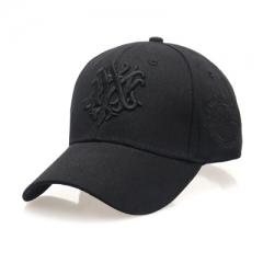 Fashion summer baseball cap Ms. sun hat letter autumn leisure hip-hop cap Golf men peaked cap black