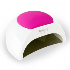 SUN2 UV LED Lamp Nail 48W Nail Dryer Machine For Curing UV Gel Led Gel Nail Gel Polish Machine pink normal