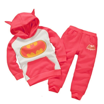 7b22f90d Kilimall: Toddler Boy Clothing Sets Winter Children Batman Hoodie+ ...