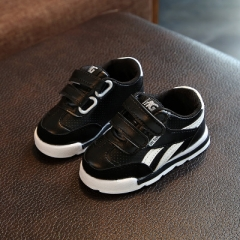 European breathable cool children shoes casual new brand kids shoes casual baby girls boys sneakers black 23