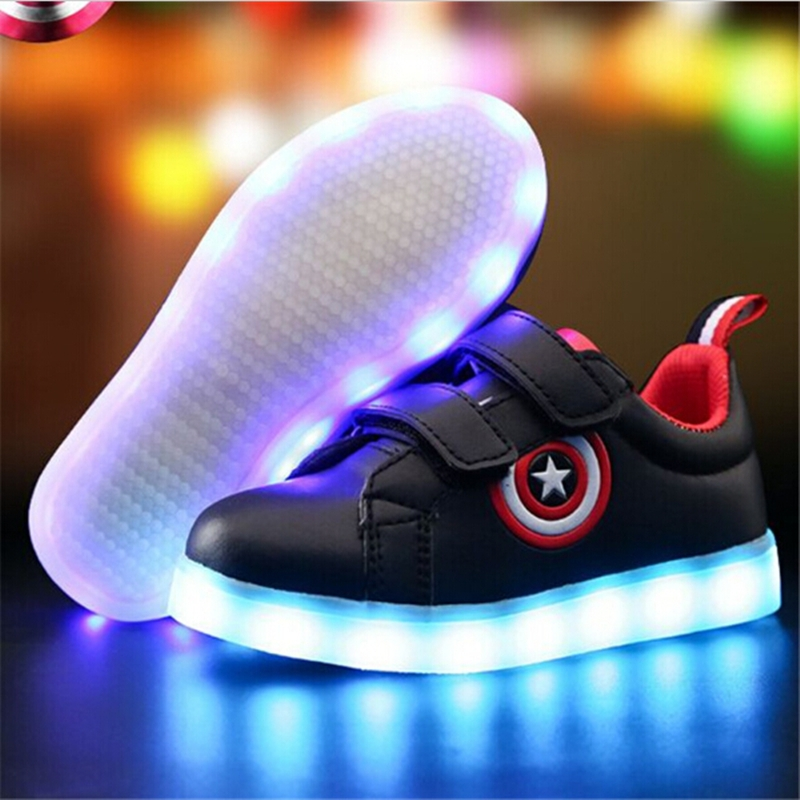 5b3be8e43 ... Children Shoes Light Led luminous Sneakers Boys Girls USB Charging Sport  Shoes black 25  Product No  1193028. Item specifics  Seller SKU h607  Brand