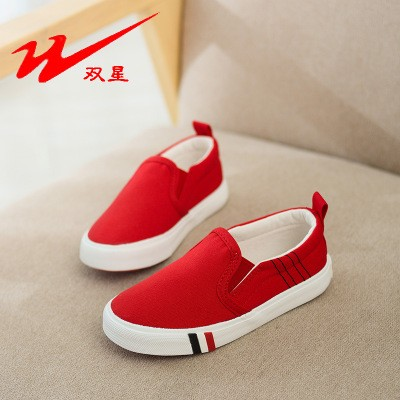 497a7538990c Summer hot sale children canvas shoes comfortable sneakers for kids outdoor  boys girls casual shoes red 25