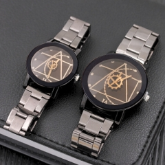 2018 Casual Ceramic watches man woman couple clocks quartz round luxury women men loves wristwatches black boy