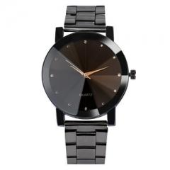 Couple Watches for Lovers Luminous Luxury Quartz Men and Women Lover Watch  Calendar  Wristwatches black