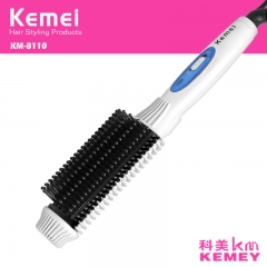 Hair curler with brush roller prancha de cabelo styling tools ionic curling irons hair straightener white normal