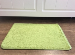 40*60cm Soft Carpet For Living  Plush Floor Rugs fluffy Mats Faux Fur Area  Living Room Mats dark green 40*60
