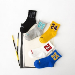 5 Pairs Children Boys Girls kids Toddler clothes Thermal Geometry Thick Boot Socks Teens Kids Mixed color s