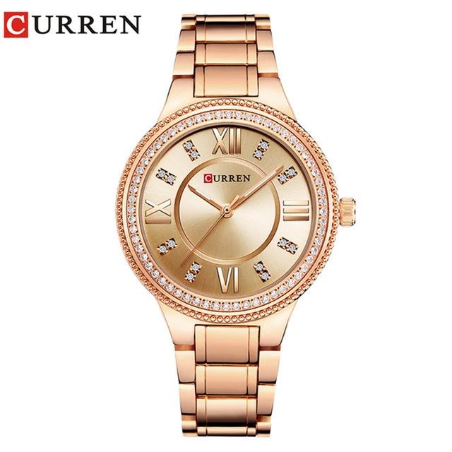 d7a64114d99 ... Women Quartz Watch Crystal Design Ladies wristwatches relogio feminino  rose red  Product No  1289779. Item specifics  Seller SKU h1011  Brand
