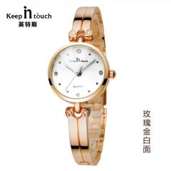 2018 Fashion Jewelry Watch Ladies Gold Waterproof Bracecelet Women Watches Diamond Female Whatch gold white