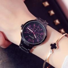 Women Watch Steel Luxury Ladies Watch Creative Girl Quartz Wristwatch Clock Montre Relogio Feminino black
