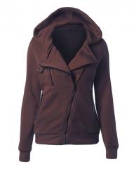 Sweatshirt Autumn  Long Sleeve  Hooded Sudaderas Mujer Warm Women Tracksuit Harajuku Streetwear coffee 2xl