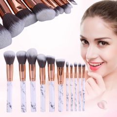 Makeup Brushes Powder Foundation Concealer Eye shadow Eyebrow Lip Blending Make up Brush Beauty Tool as picture