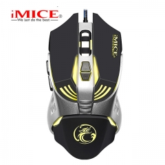 3200CPI 7 Buttons mouse game Ergonomic USB optical wired gaming mouse black wired