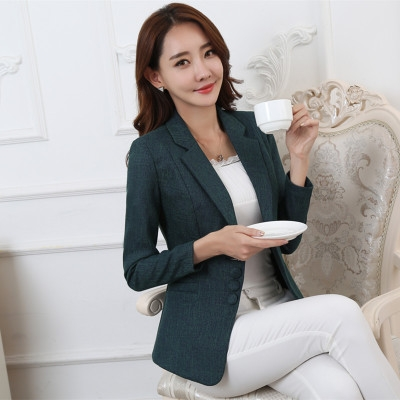 d33b40891e0 Plus Size 5XL Elegant Business Lady Jacket New 2018 Women Full Sleeve Work  Blazer Female Casual Coat green 5xl  Product No  1345024. Item specifics   Seller ...