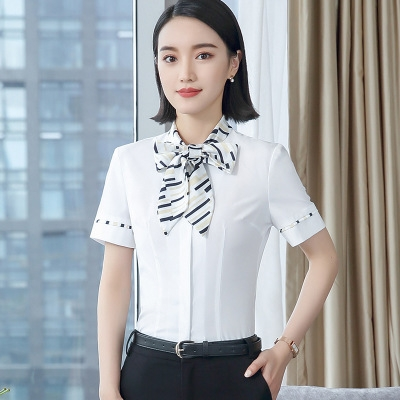 22dd496ded07db ... shirt bow tie chiffon blouse women blouse work wear formal office top  white s  Product No  1354601. Item specifics  Seller SKU h1189  Brand